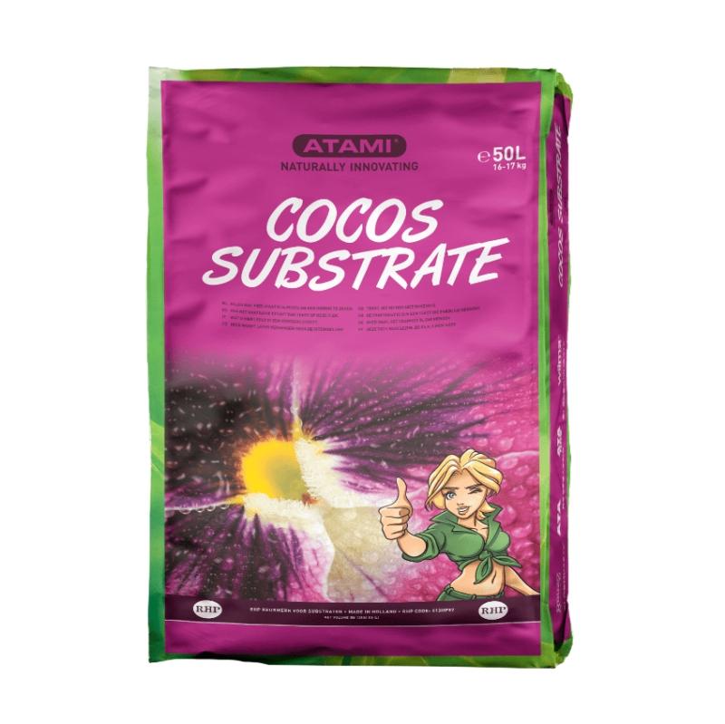 Fotografía del producto del saco de fibra de coco 50L